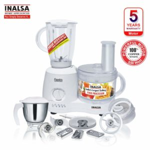 Inalsa Fiesta – Best Food Processor with Juicer Attachment