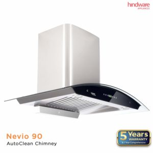 Hindware Nevio – Best Thermal Auto-Clean Chimney in India
