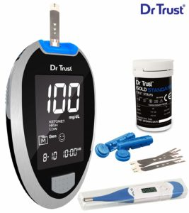 Dr. Trust (USA) – Best Glucometer for Home Use in India