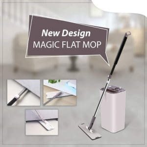 M7STORE Flat Mop for Floor Cleaning